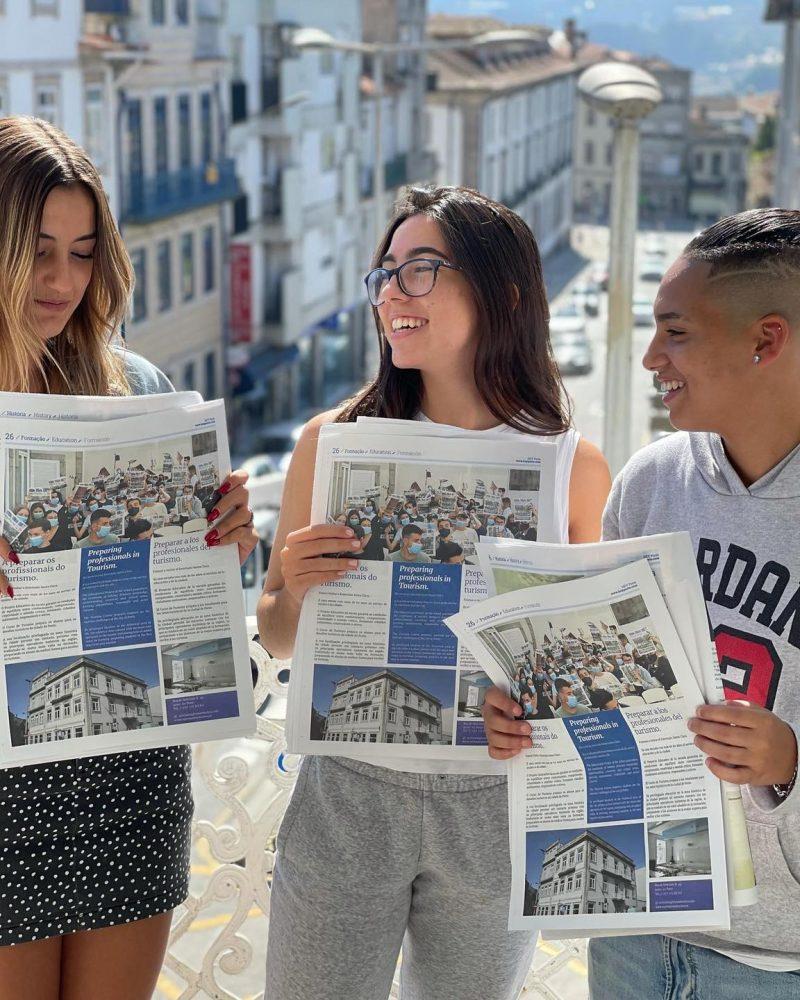 Nós no Hey Porto
