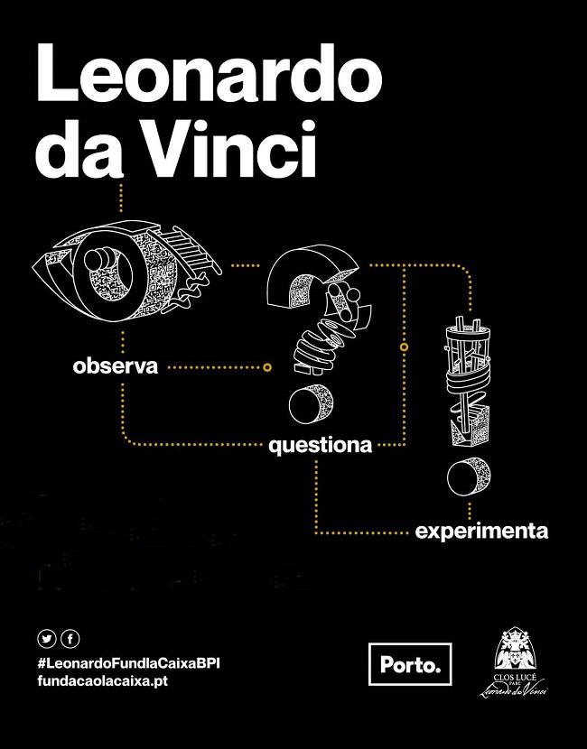 Leonardo da Vinci. Observa, Questiona, Experimenta.